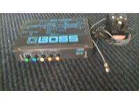 Boss RRV-10 digital reverb effects processor