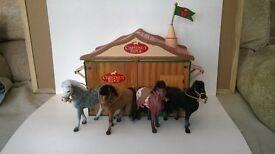 Chestnut Ridge Horses and Stable set