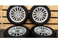 "16"" AUDI A3 alloys and tyres VW SEAT SKODA GOLF LEON JETTA"