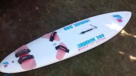 F2 Sputnik 280 Windsurf board