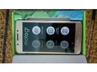 Motorola moto g5 gold 16 GB New