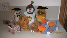 Group of Ty Beanie Babies