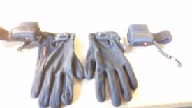 Heated motorcycle gloves liner