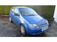 Beautiful Blue 2007 Chevrolet Kalos 'S' 1200cc 6 Months MOT