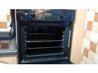 Built in Electrolux oven and Hob.