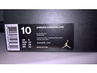 jordon trainers size 10 still in box new black