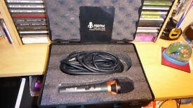 D j or vocal microphone brand new , was 60 pound never used will sell for £30 bargain
