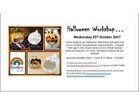 Halloween Workshop at Rainbow Buttons..