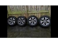 "Mercedes x class x-class / Nissan Navara Pathfinder 18"" 18 inch alloys alloy wheels"