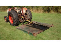 Tractor Meadow Topper Mower 6 foot.