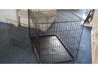 Large Dog Crate Two Door
