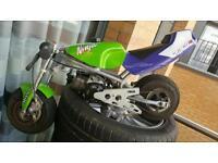 Mini moto blata