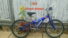 Used bikes for adults and children