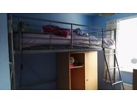 Bunkbed with wardrobe - FREE