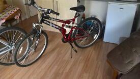 18inch emmelle phantom mountain bike