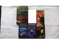 5 Alistair Maclean Books, Sea Witch, Caravan to Vaccares, Puppet On A Chain, Time Of The Assassins