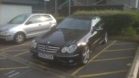 Mercedes Coupe new mot and service