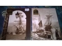 Vintage photos of Whitby taken from original plates