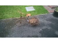 garden bike ornament