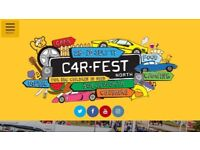 2 Carfest North Weekend Camping Tickets