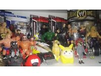 Wanting Wrestling Figures, Sealed Preferable, Some Loose Depending On The Figure