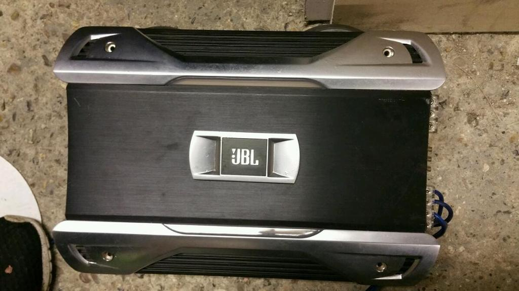 Jbl sound system for sale subs/amp/6×9in Edmonton, LondonGumtree - Jbl sound system for sale. 2000w jbl amp 2×1000w jbl subwoofer2× jbl 6×9Subs are in a custom built enclosed boxLocal pick up only
