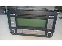 VW double din car stereo RCD300