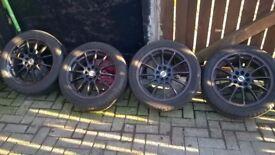 4x stud multi-fit wheels