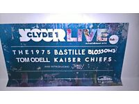 TWO CLYDE 1 LIVE TICKETS @The SSE HYDRO. LEVEL 2 SEATING