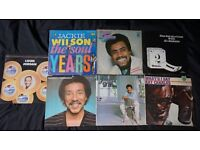 12 VINYL LP'S SMOKIE ROBINSON JIMMY RUFFIN AL JACKSON JACKIE WILSON CLIFF RICHARD SHADOWS