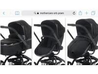 Mothercare Orb pram & Cybex car seat