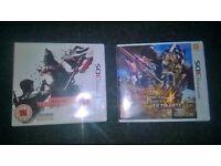 3DS Games Monster Hunter & Resident Evil