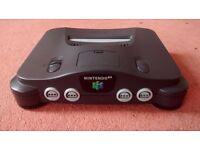 Nintendo 64 Console PAL Official RGB Officiel CMS NUS-001 FRA N64 Rare