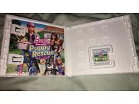 Barbie puppy rescue Nintendo DS Game