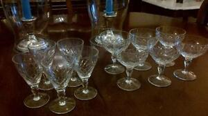 Crystal glasses $2 each West Island Greater Montréal image 1