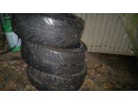 225 40 18 tyres , 3 Winrun budget tyres , good condition .