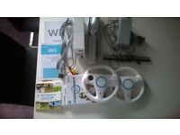 NINTENDO WII AND 3 GAMES. EXCELLENT CONDITION. £40