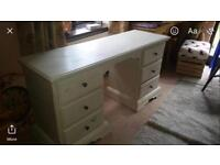 Large solid heavy desk