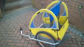 Halford Double Bike Buggy great