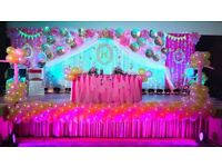 birthday stage decoration kit available