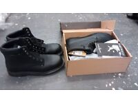 New steel toe cap boots size 10