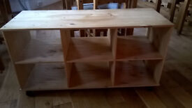 Wooden Toy Storage / Play Bench