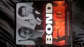james bond hb book near mint state.