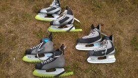 Ice Hockey Skates (3 pairs)