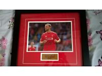 Liverpool Rickie Lambert framed, signed picture