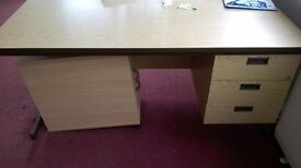 Office Furniture - Multiple chairs, desks and cabinets