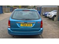 2001 FORD FOCUS ESTATE AUTOMATIC WITH 1 YEAR MOT