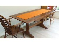 Ercol dining table, in excellent condition.