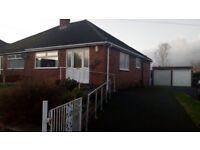 2 bed semi detached bungalow (private rent) Higher Runcorn.