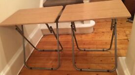 2 x Folding Tables, Very Sturdy, Almost New Condition.